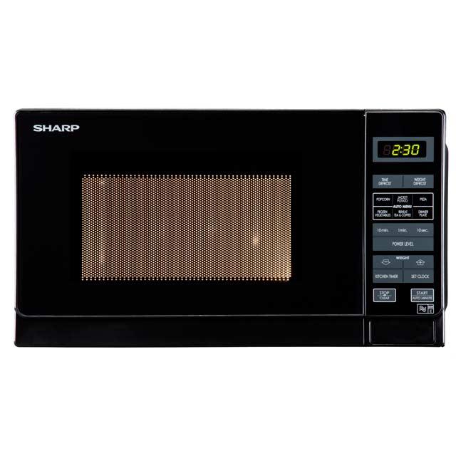 sharp microwave r272km microwave free standing 800 watt. Black Bedroom Furniture Sets. Home Design Ideas