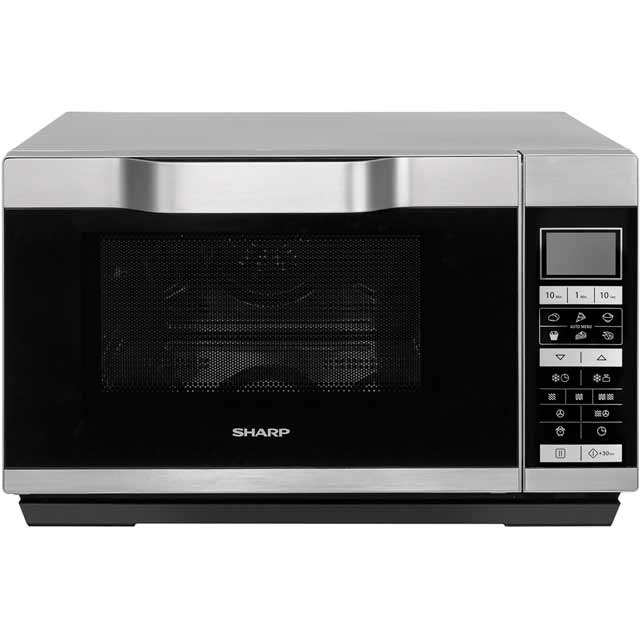 Sharp R861SLM 25 Litre Combination Microwave Oven - Silver