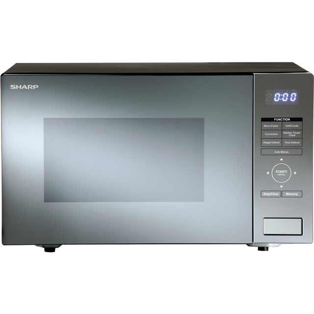 sharp r861slm. sharp r870slm 25 litre combination microwave oven - silver r861slm
