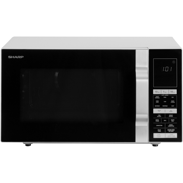 Sharp R890S 28 Litre Combination Microwave Oven - Silver