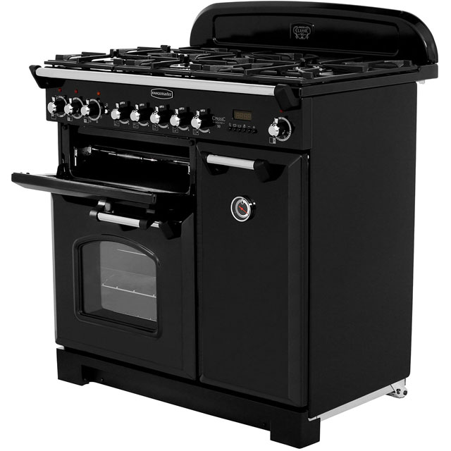 Rangemaster CDL90DFFRP/C Classic Deluxe 90cm Dual Fuel Range Cooker - Royal Pearl - CDL90DFFRP/C_RP - 2