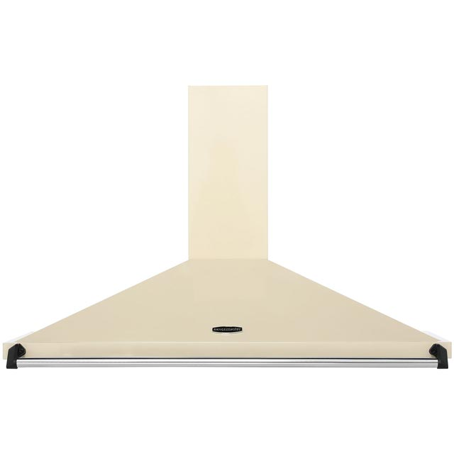 Rangemaster Classic CLAHDC110CR/C 110 cm Chimney Cooker Hood - Cream / Chrome - CLAHDC110CR/C_CR - 1