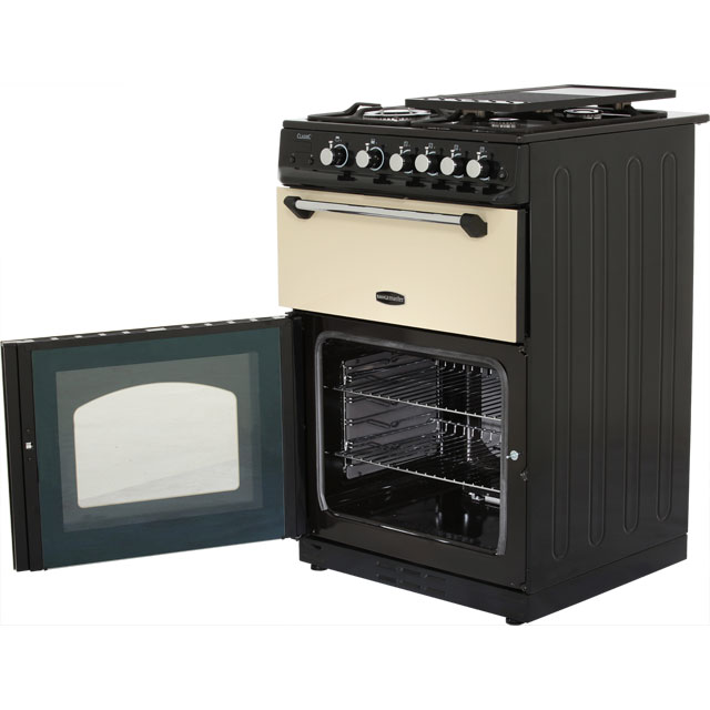 Rangemaster CLAS60NGFCR/C Gas Cooker - Cream / Chrome - CLAS60NGFCR/C_CR - 4