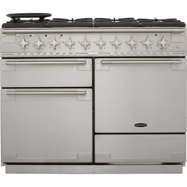 Rangemaster Elise ELS110DFFSS 110cm Dual Fuel Range Cooker - Stainless Steel - A Rated