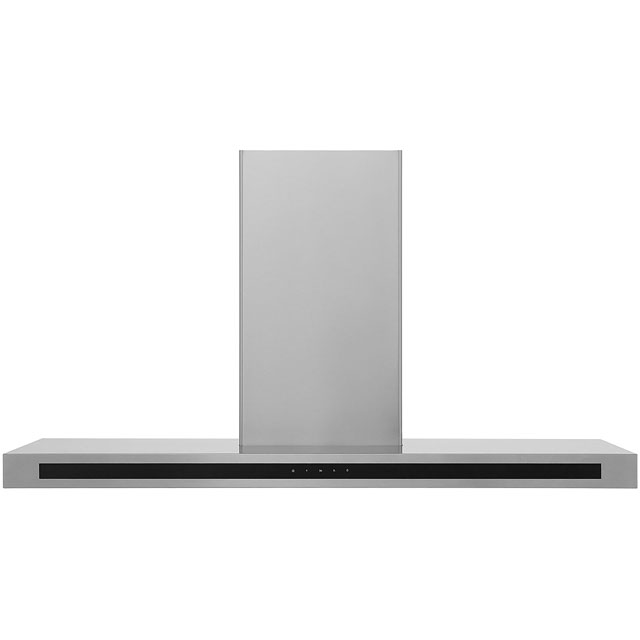 Rangemaster Hi-Lite Flat 110 cm Chimney Cooker Hood - Stainless Steel - C Rated