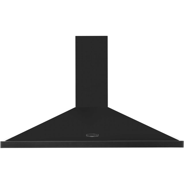 Rangemaster LEIHDC110BB 110 cm Chimney Cooker Hood - Black / Brass - E Rated - LEIHDC110BB_BK - 1