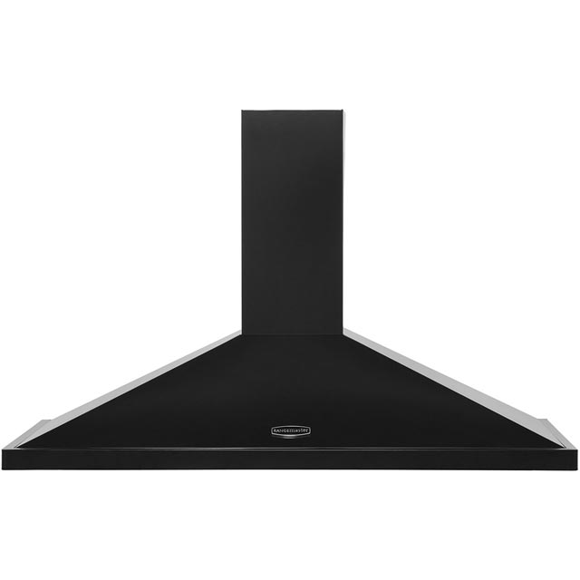 Rangemaster Rangemaster 110 LEIHDC110BC Built In Chimney Cooker Hood - Black / Chrome - LEIHDC110BC_BK - 1