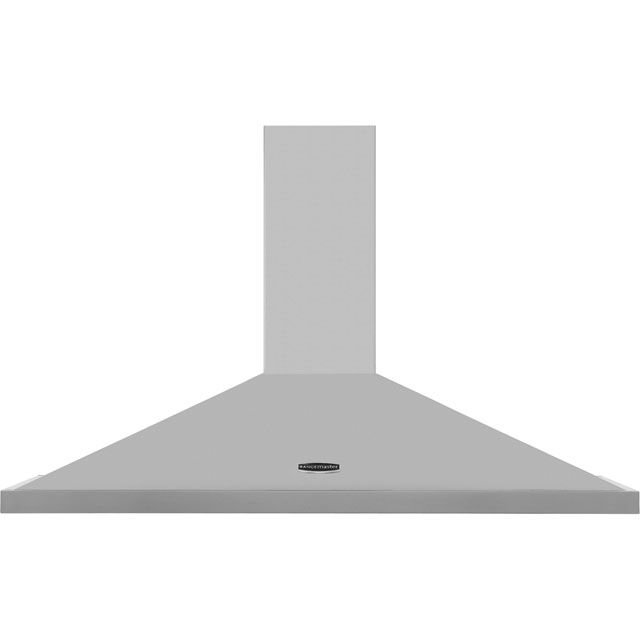 Rangemaster Rangemaster 110 110 cm Chimney Cooker Hood - Stainless Steel - E Rated