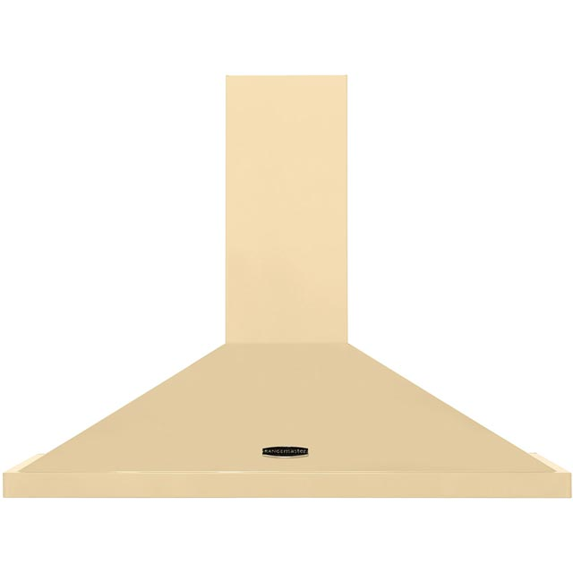 Rangemaster LEIHDC90CR/C 90 cm Chimney Cooker Hood - Cream / Chrome - LEIHDC90CR/C_CR - 1
