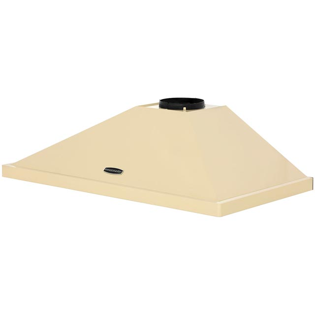 Rangemaster LEIHDC90CR/C 90 cm Chimney Cooker Hood - Cream / Chrome - LEIHDC90CR/C_CR - 4