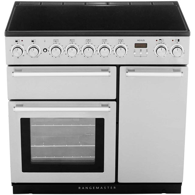 Rangemaster NEX90EISS/C Nexus 90cm Electric Range Cooker - Stainless Steel / Chrome - NEX90EISS/C_SS - 4