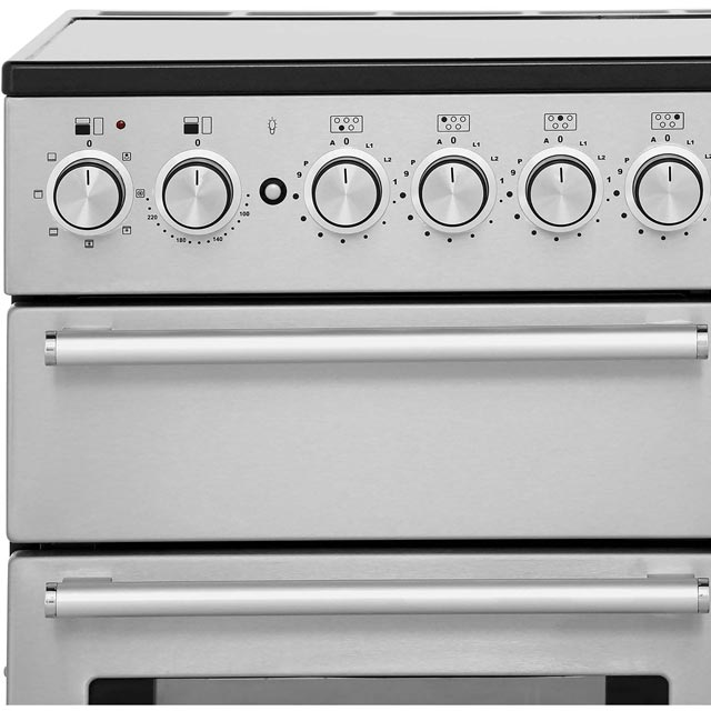 Rangemaster NEX90EISS/C Nexus 90cm Electric Range Cooker - Stainless Steel / Chrome - NEX90EISS/C_SS - 2