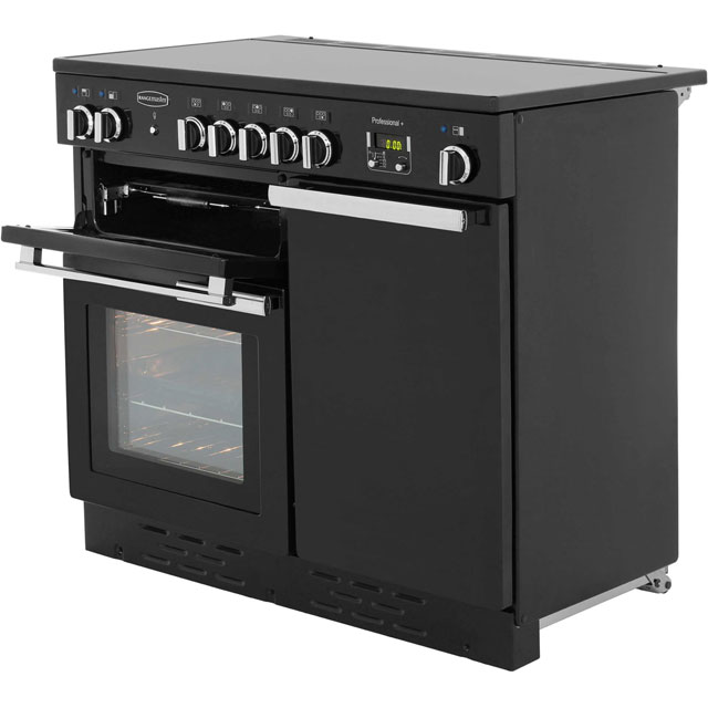 Rangemaster PROP100EICR/C Professional Plus 100cm Electric Range Cooker - Cream - PROP100EICR/C_CR - 2