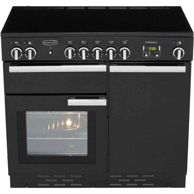 Rangemaster PROP100EICR/C Professional Plus 100cm Electric Range Cooker - Cream - PROP100EICR/C_CR - 5