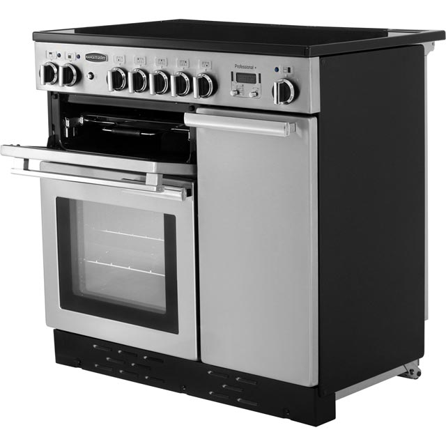 Rangemaster PROP90EISS/C Professional Plus 90cm Electric Range Cooker - Stainless Steel - PROP90EISS/C_SS - 2