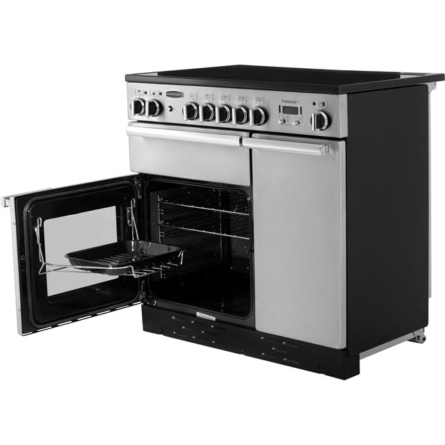 Rangemaster PROP90EISS/C Professional Plus 90cm Electric Range Cooker - Stainless Steel - PROP90EISS/C_SS - 3