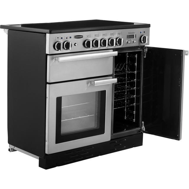 Rangemaster PROP90EISS/C Professional Plus 90cm Electric Range Cooker - Stainless Steel - PROP90EISS/C_SS - 4