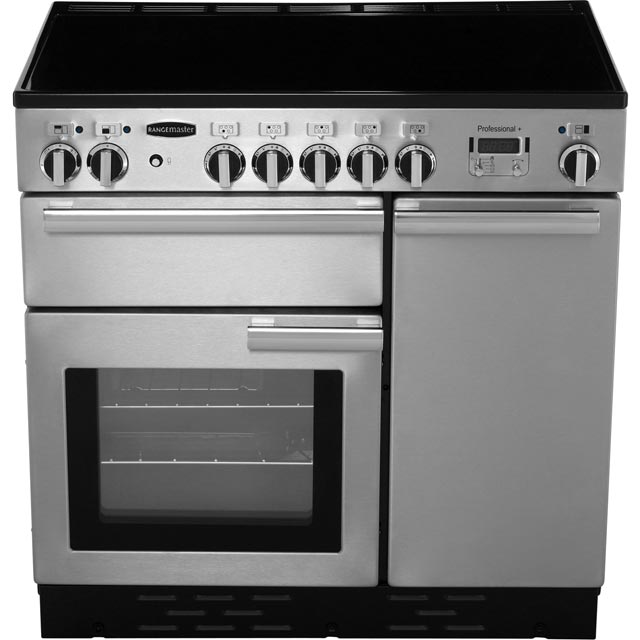 Rangemaster PROP90EISS/C Professional Plus 90cm Electric Range Cooker - Stainless Steel - PROP90EISS/C_SS - 5