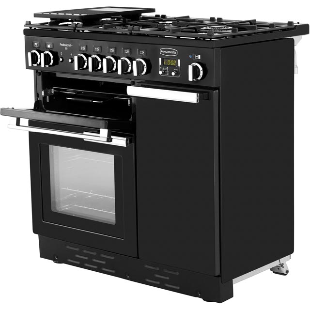 Rangemaster PROP90NGFCY/C Professional Plus 90cm Gas Range Cooker - Cranberry - PROP90NGFCY/C_CB - 2
