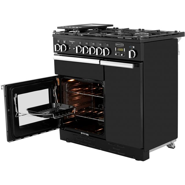 Rangemaster PROP90NGFCY/C Professional Plus 90cm Gas Range Cooker - Cranberry - PROP90NGFCY/C_CB - 3