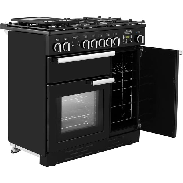 Rangemaster PROP90NGFCY/C Professional Plus 90cm Gas Range Cooker - Cranberry - PROP90NGFCY/C_CB - 4
