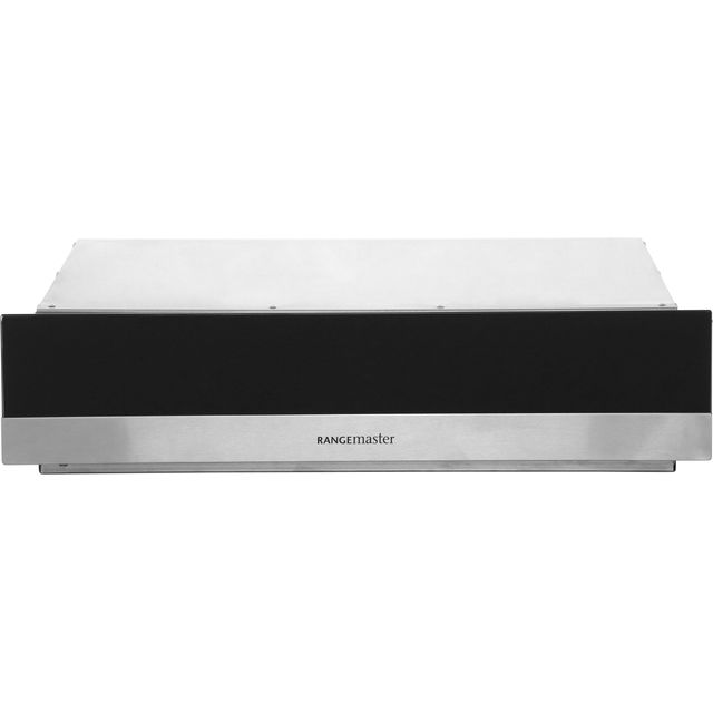 Rangemaster RMB45WDBL/SS Built In Warming Drawer - Stainless Steel / Black