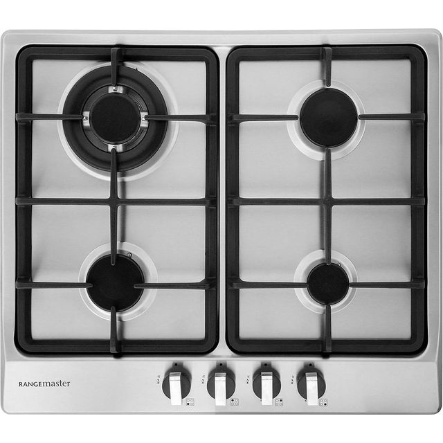 Rangemaster RMB60HPNGFSS Integrated Gas Hob in Stainless Steel