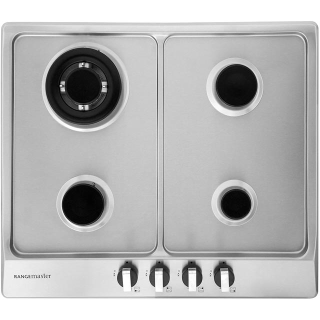 Rangemaster RMB60HPNGFSS Built In Gas Hob - Stainless Steel - RMB60HPNGFSS_SS - 5