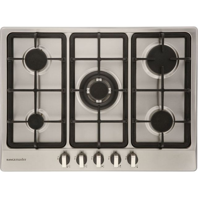 Rangemaster RMB70HPNGFSS Built In Gas Hob - Stainless Steel