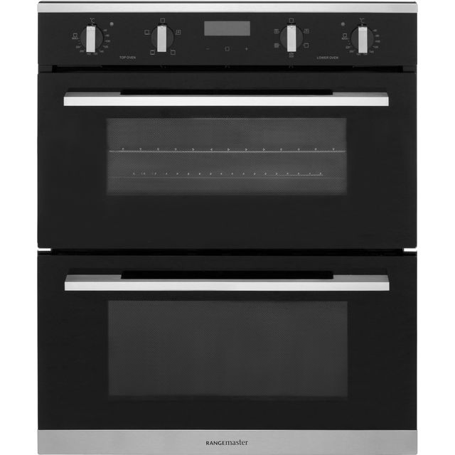Rangemaster Built Under Double Oven - Black - A Rated