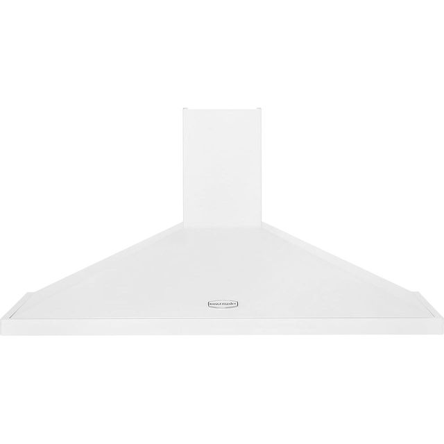Rangemaster 110 cm Chimney Cooker Hood - White / Chrome - E Rated