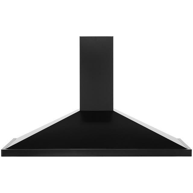 Rangemaster UNBHDC110BL Built In Chimney Cooker Hood - Black - UNBHDC110BL_BK - 1