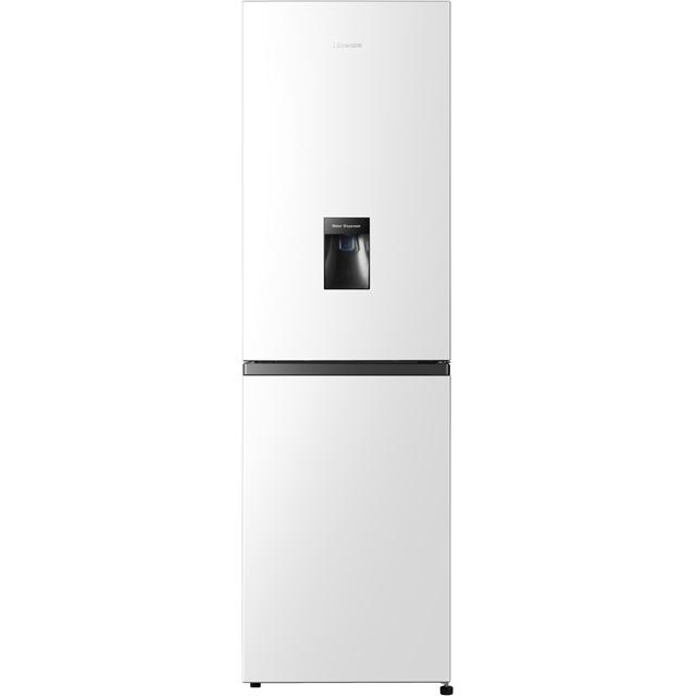Hisense RB327N4WW1 182x55cm 251L Freestanding Fridge Freezer With Non-plumb Water Dispenser - White
