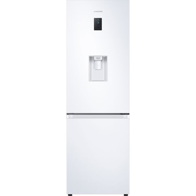 Samsung RB34T652DWW/EU Frost Free Fridge Freezer, A++, with non plumbed water dispenser