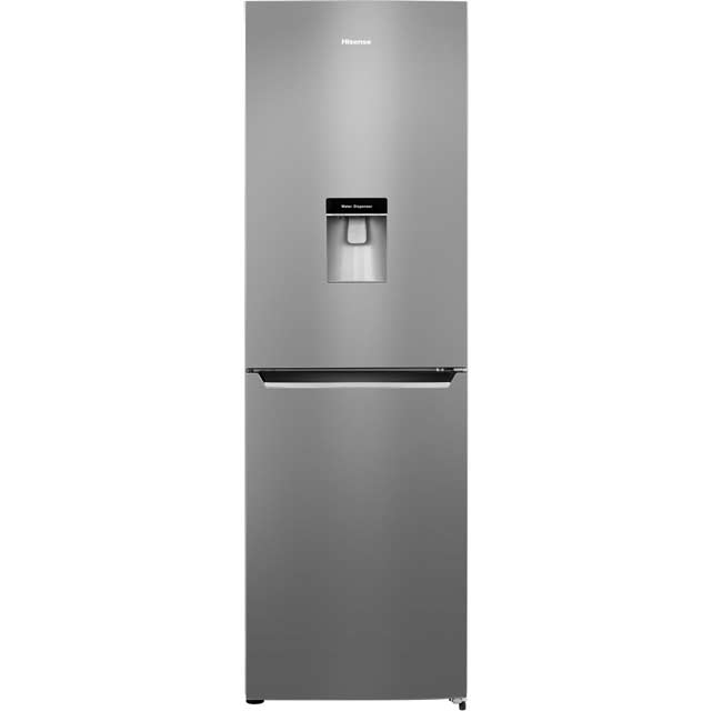 Hisense RB381N4WC1 50/50 Frost Free Fridge Freezer - Stainless Steel Look