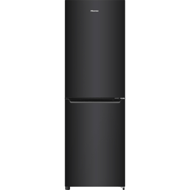 Hisense RB385N4EB1 50/50 Frost Free Fridge Freezer - Black - RB385N4EB1_BK - 1