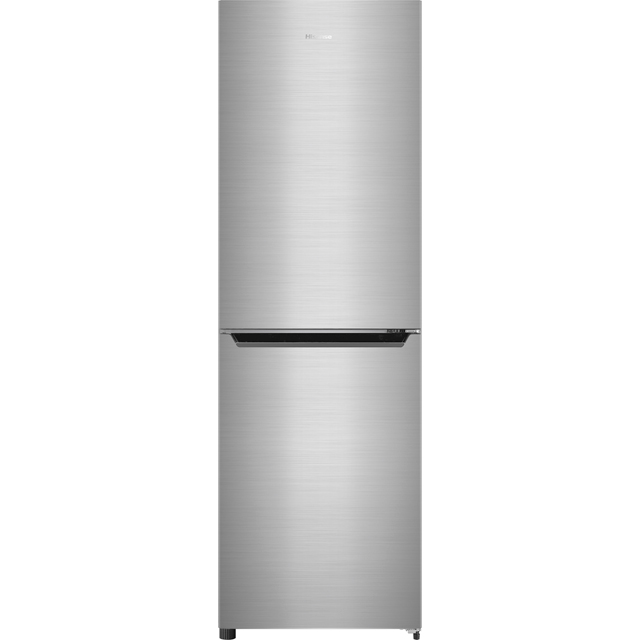 Hisense RB385N4EC1 50/50 Frost Free Fridge Freezer - Stainless Steel Effect - RB385N4EC1_SSL - 1