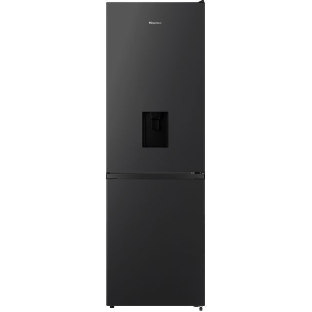 Hisense RB390N4WB1 Fridge Freezer - Black - RB390N4WB1_BK - 1