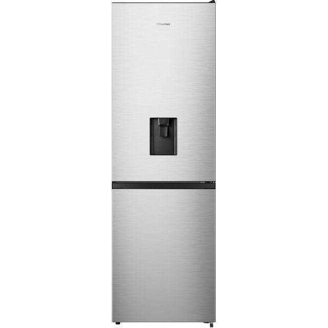 Hisense RB390N4WC1 Fridge Freezer - Stainless Steel - RB390N4WC1_SS - 1