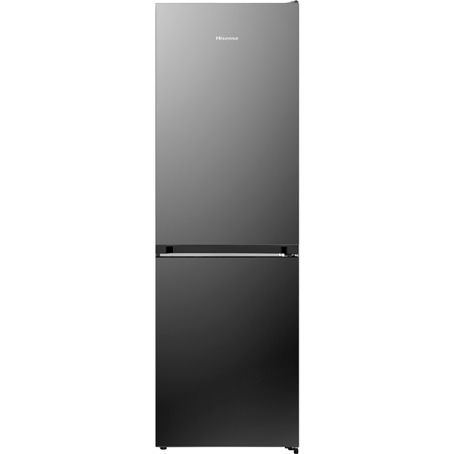 Hisense RB406N4AB1 60/40 Frost Free Fridge Freezer - Black - A+ Rated - RB406N4AB1_BK - 1