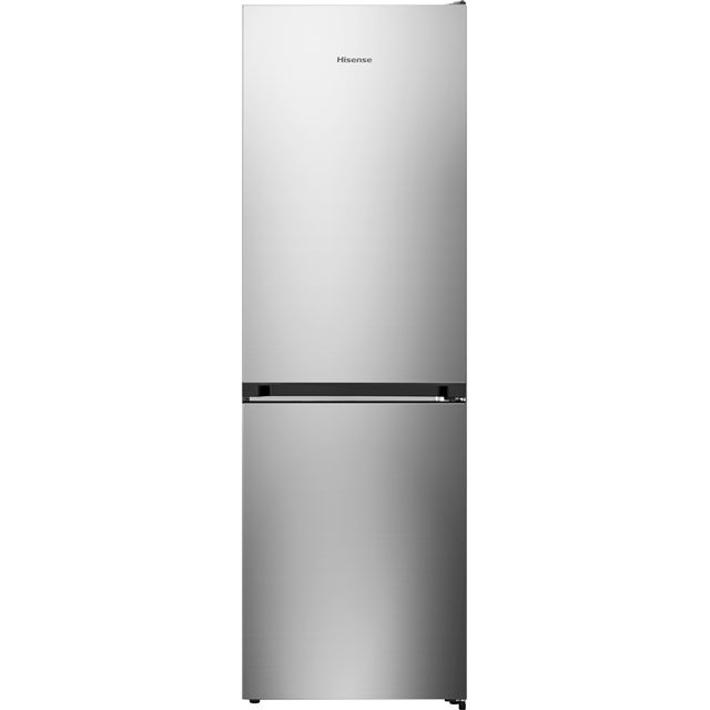 Hisense RB406N4AC1 60/40 Frost Free Fridge Freezer - Stainless Steel - A+ Rated - RB406N4AC1_SS - 1