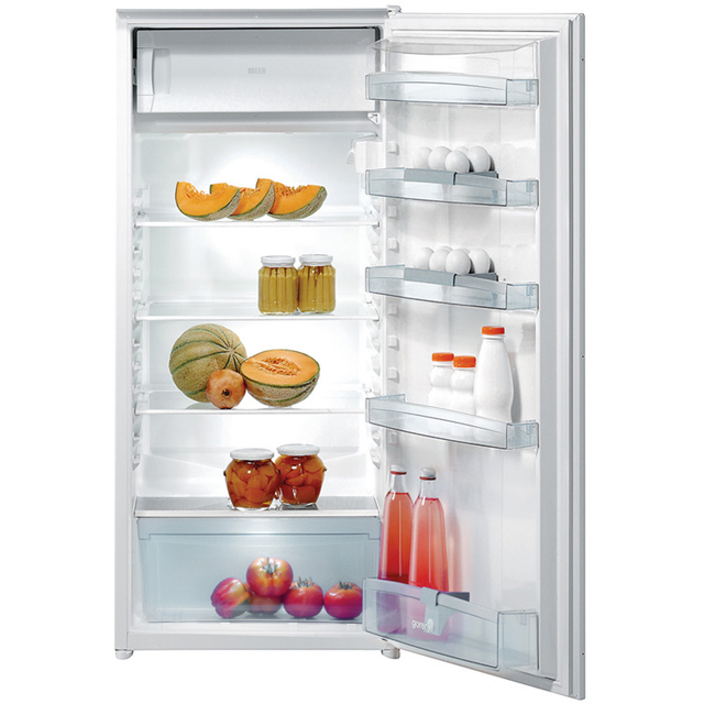 Gorenje Essential Line RBI4121AW Integrated Upright Fridge - Sliding Door Fixing Kit - A+ Rated