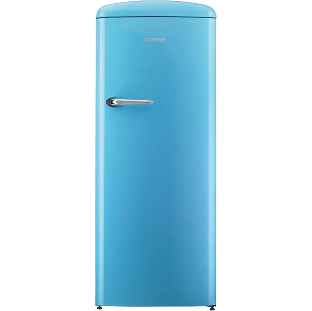 Gorenje Retro Collection RBO6153BL Fridge with Ice Box - Blue - A+++ Rated