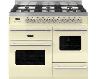 Britannia Delphi RC-10XGG-DE-CR Free Standing Range Cooker in Cream
