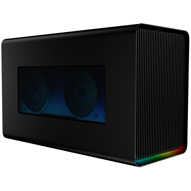 Razer Core X Chroma External Graphics Card Enclosure RC21-01430100-R3W1 Graphics Card in Black