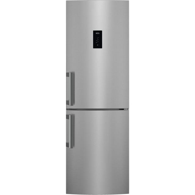 AEG RCB53324VX Free Standing Fridge Freezer Frost Free in Stainless Steel