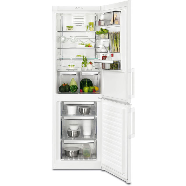 AEG RCB53325VW 60/40 Frost Free Fridge Freezer - White - A++ Rated - RCB53325VW_WH - 1