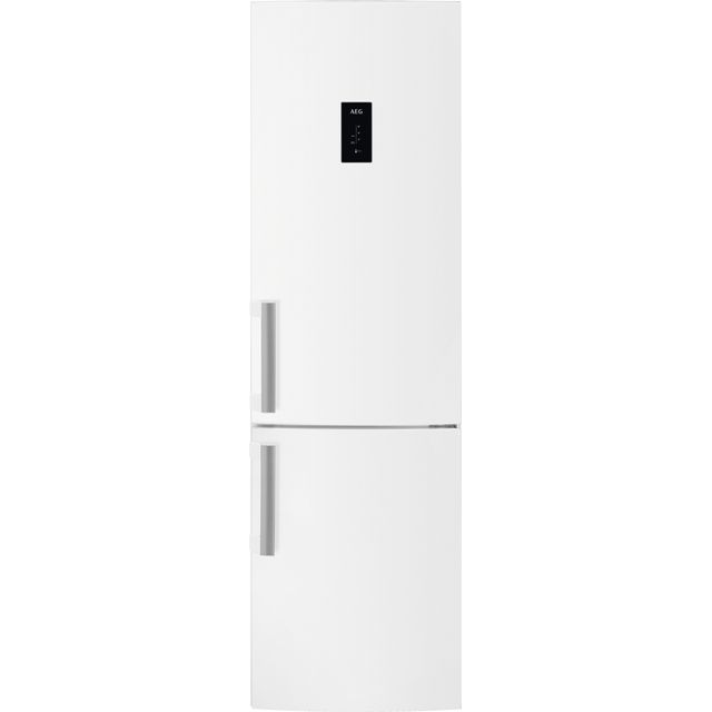 AEG RCB53724VW Free Standing Fridge Freezer Frost Free in White
