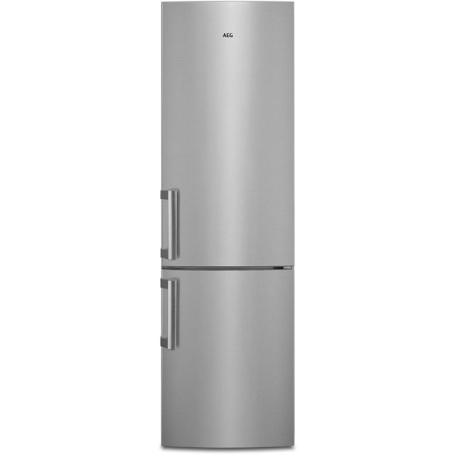 AEG RCB53725MX Free Standing Fridge Freezer Frost Free in Stainless Steel