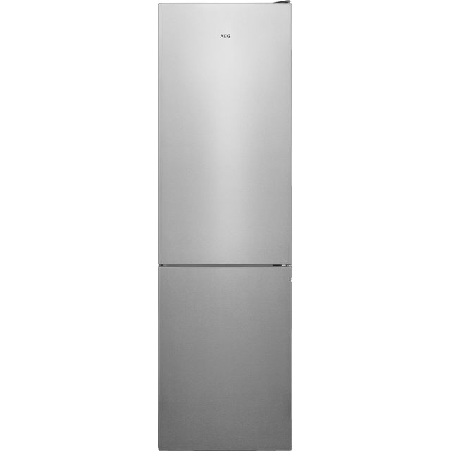 AEG RCB636E4MX 60/40 Frost Free Fridge Freezer - Silver - A++ Rated